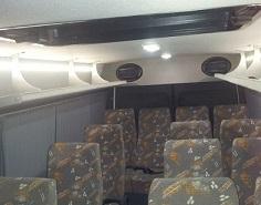 Стандартный салон автобуса